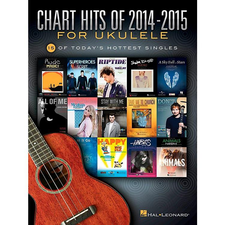 Hal LeonardChart Hits Of 2014-2015 For Ukulele