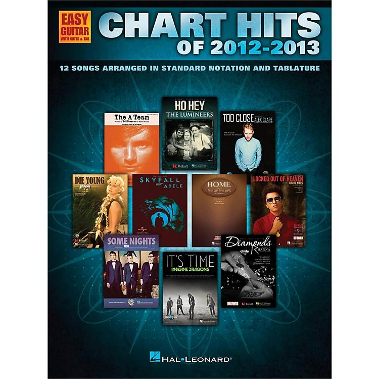 Hal LeonardChart Hits of 2012-2013 for Easy Guitar Tab