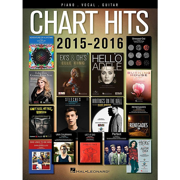 Hal LeonardChart Hits of 2015-2016 for Piano/Vocal/Guitar