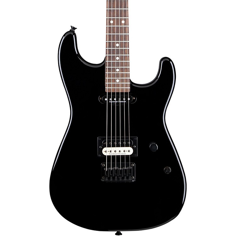 Charvel Charvel San Dimas SD1- HS Electric Guitar Black Hardtail