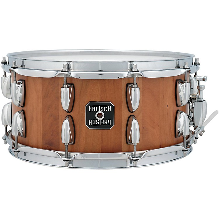 Gretsch Drums Cherry Stave 20-Lug Snare Drum 6.5 x 14 Inch