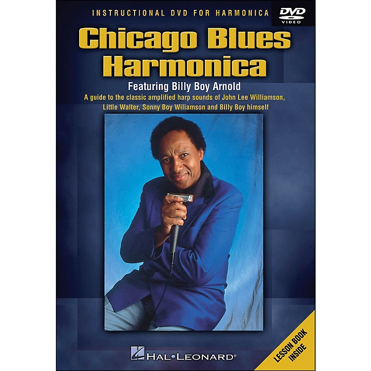 Hal LeonardChicago Blues Harmonica DVD - Featuring Billy Boy Arnold