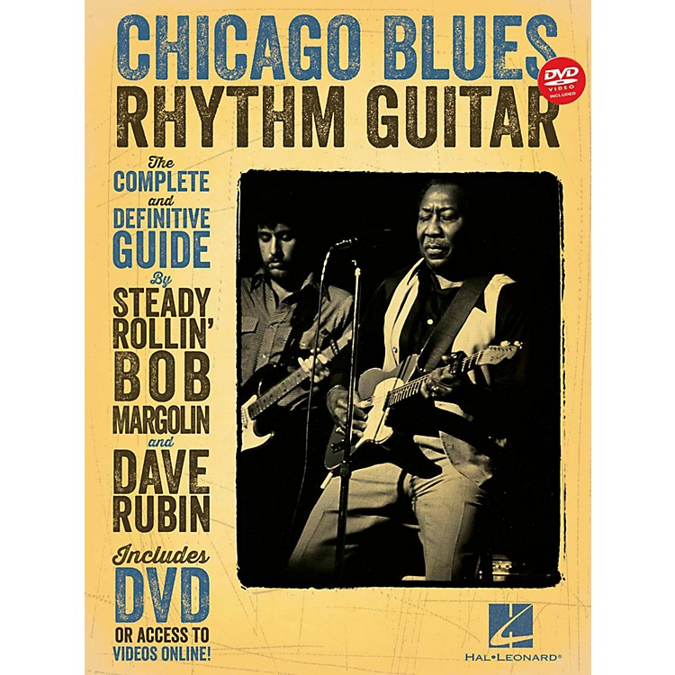 Hal Leonard Chicago Blues Rhythm Guitar Book/DVD