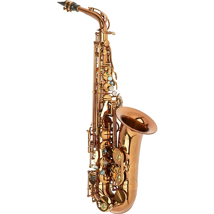 Allora Chicago Jazz Alto Saxophone AAAS-954 - Dark Gold Lacquer