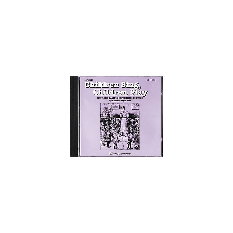 Hal Leonard Children Sing, Children Play CD