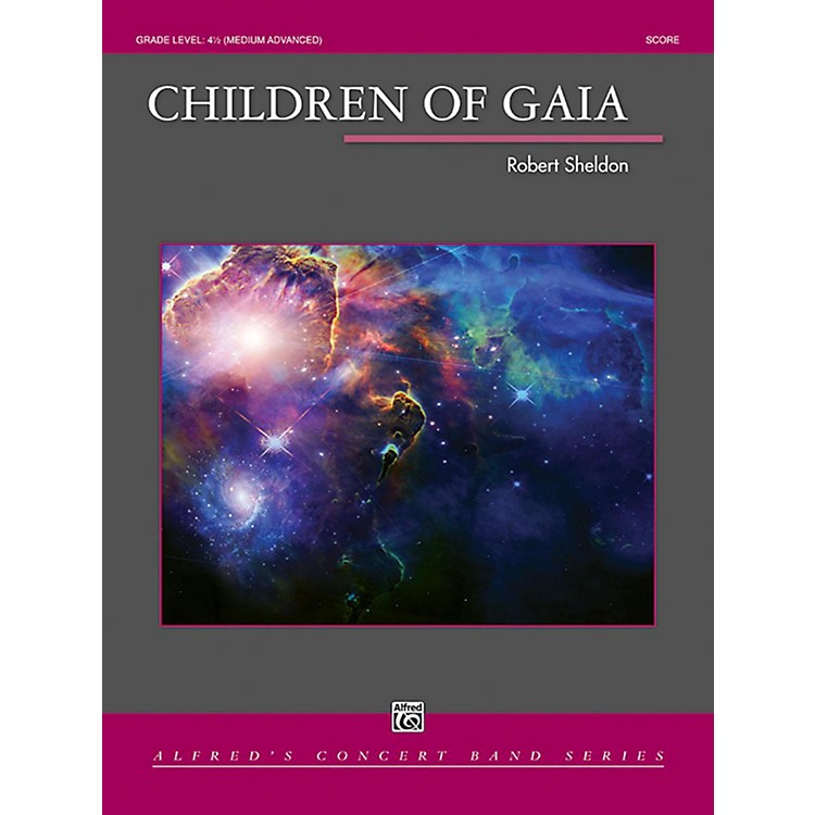 AlfredChildren of Gaia Concert Band Grade 4.5