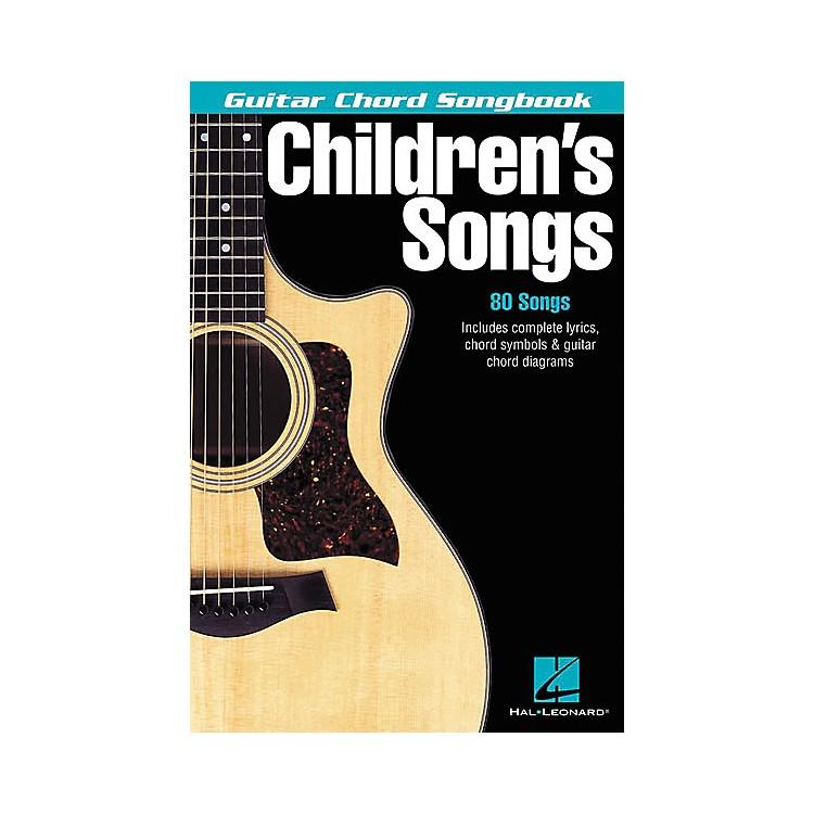 Hal LeonardChildren's Songs Guitar Chord Songbook