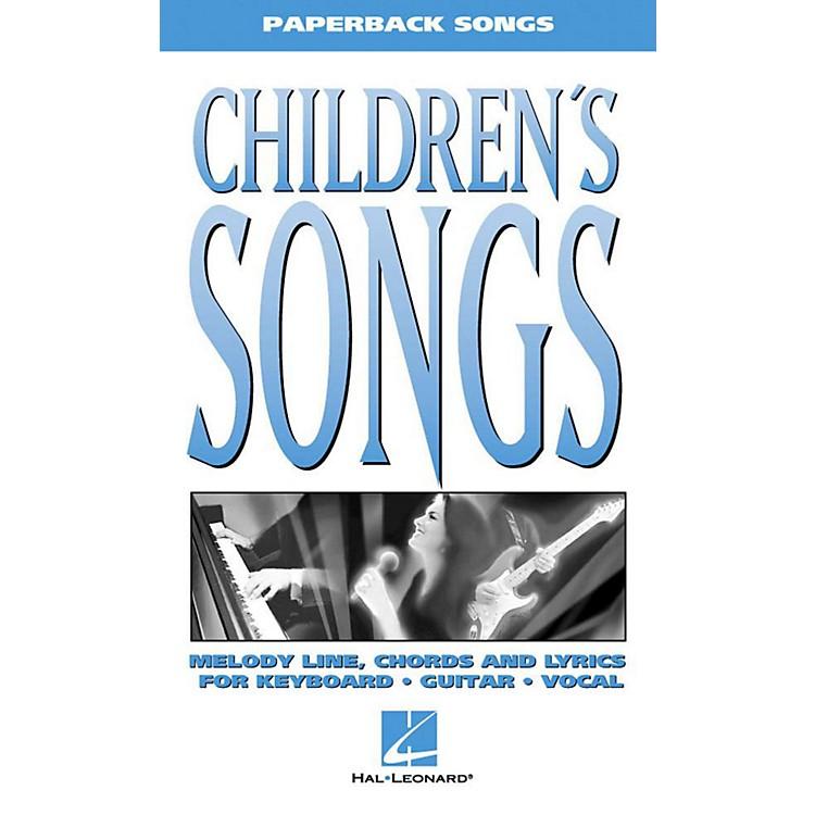 Hal LeonardChildren's Songs Piano, Vocal, Guitar Songbook