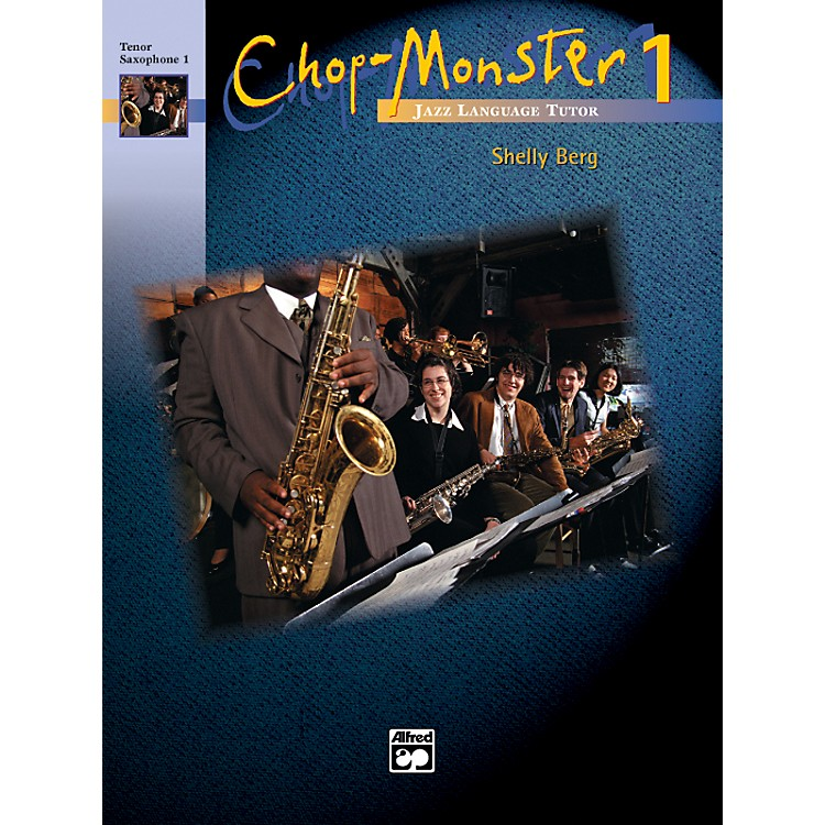 Alfred Chop-Monster Book 1 Trombone 4 Book & CD
