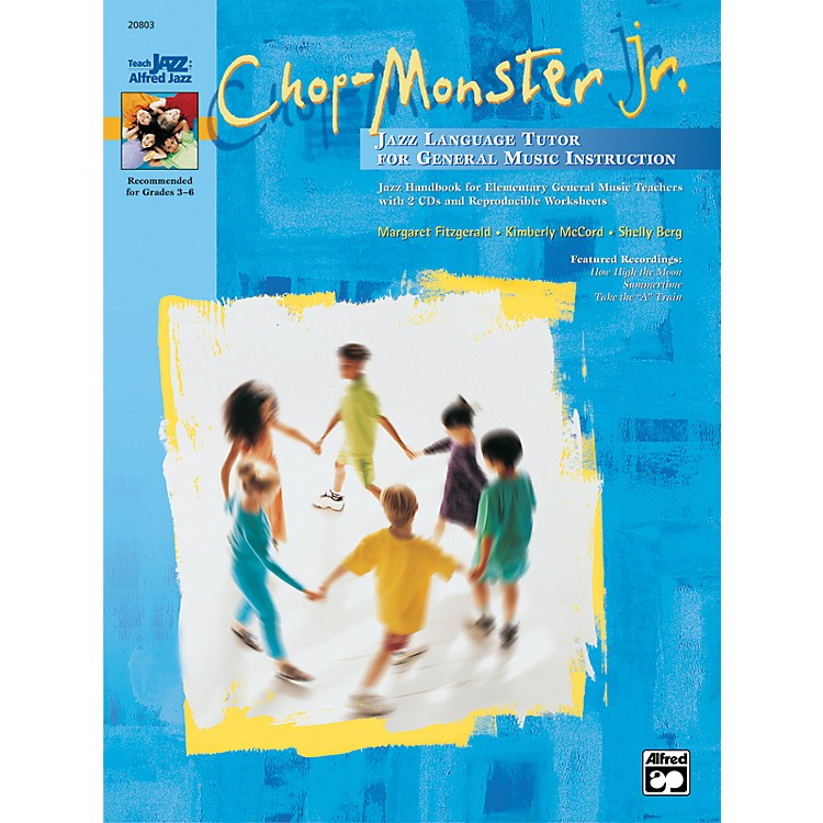 AlfredChop-Monster Jr. Book & 2 CDs