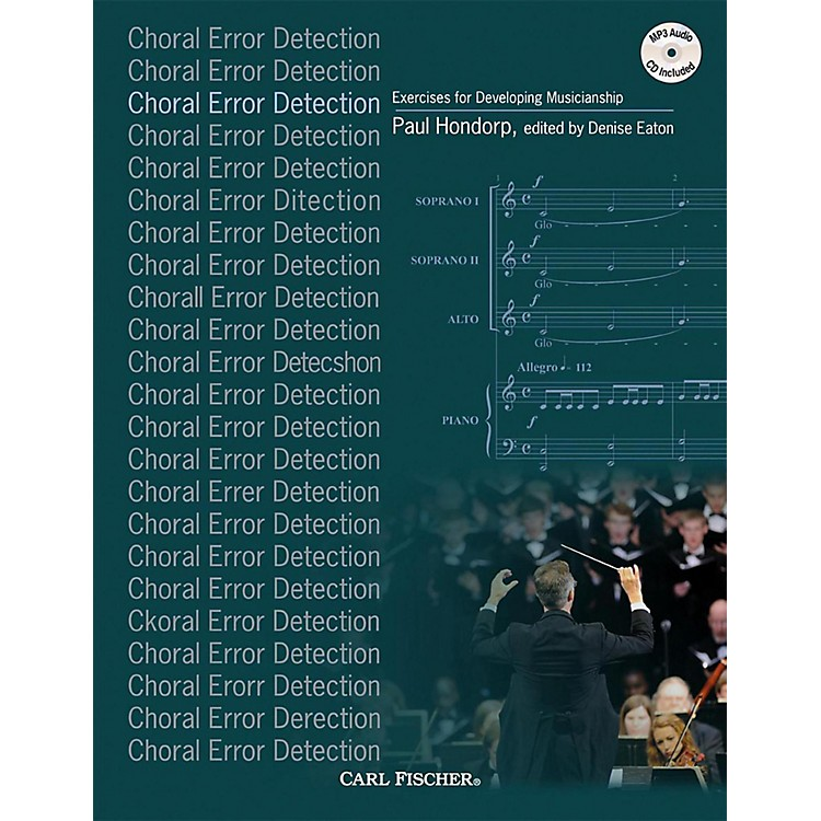 Carl FischerChoral Error Detection: Exercises for Developing Musicianship Book and CD