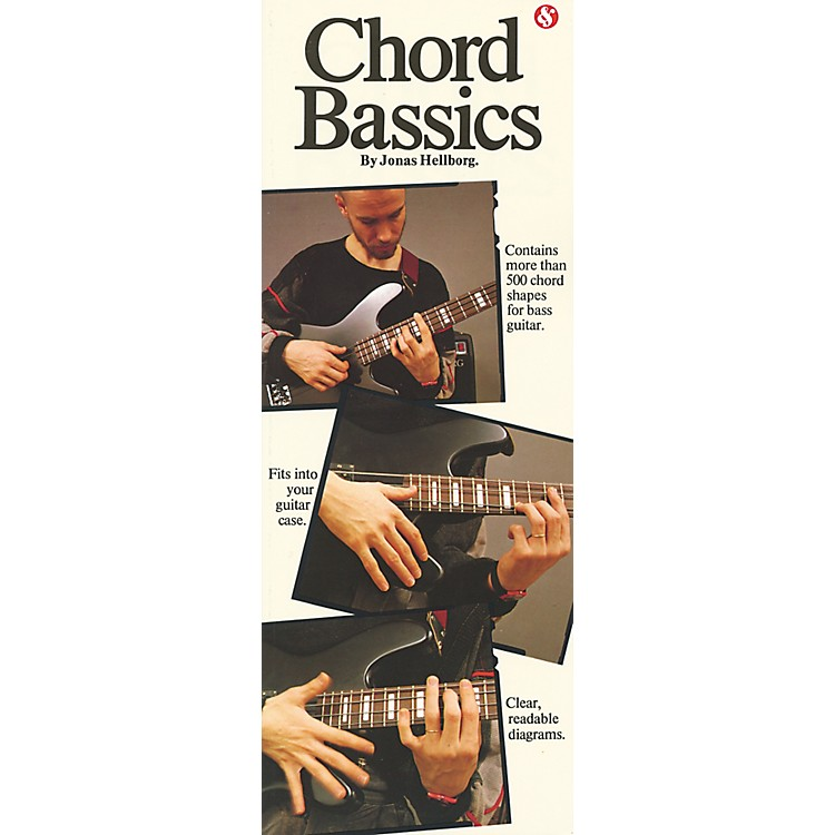 Music Sales Chord Bassics Bass Chord Book
