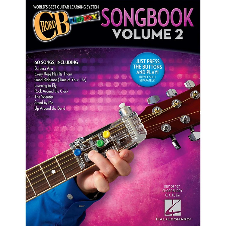 Hal LeonardChordbuddy Songbook - Volume 2