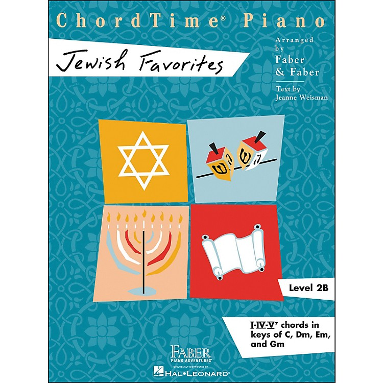 Faber Music Chordtime Jewish Favorites - Faber Piano