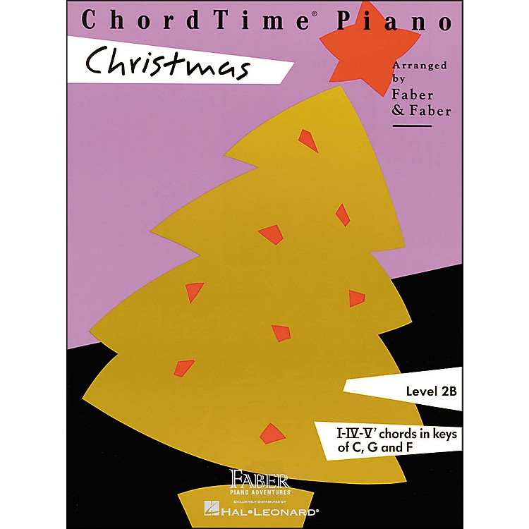 Faber Music Chordtime Piano Christmas Level 2B - Faber Piano