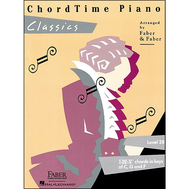 Faber Music Chordtime Piano Classics Book Level 2B - Faber Piano