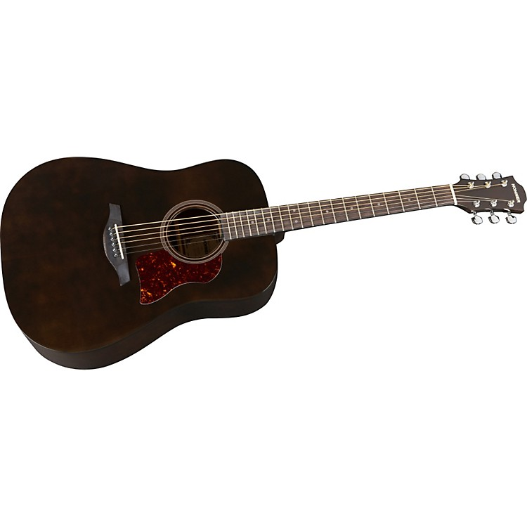Hohner Chorus Series Mahogany Acoustic Guitar Transparent Black