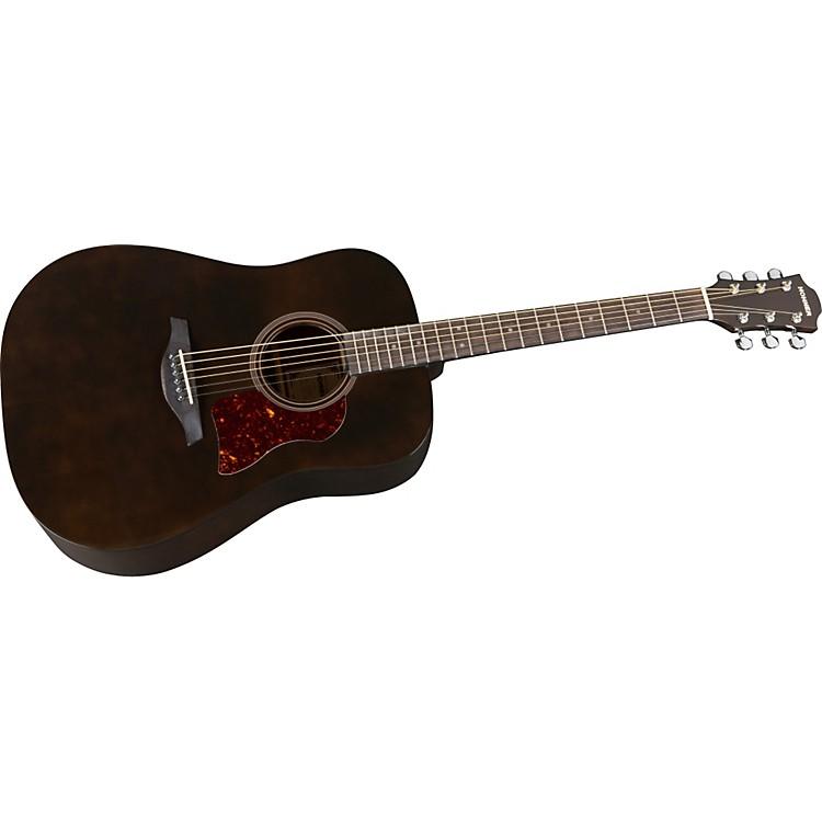 HohnerChorus Series Mahogany Acoustic GuitarTransparent Black