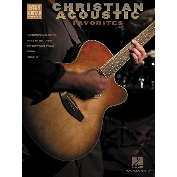 Hal LeonardChristian Acoustic Favorites Songbook w/Tab