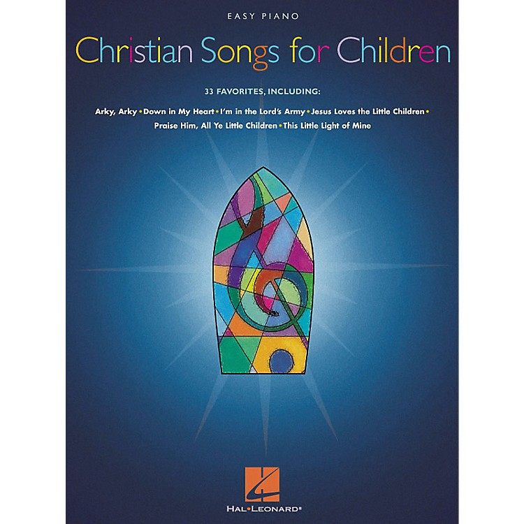 Hal Leonard Christian Songs For Children For Easy Piano