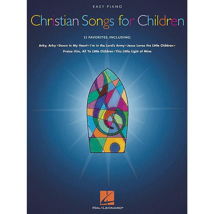 Hal LeonardChristian Songs For Children For Easy Piano