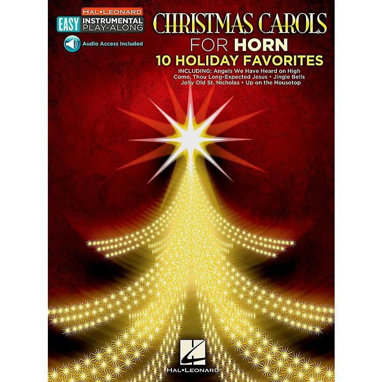 Hal LeonardChristmas Carols - Horn - Easy Instrumental Play-Along (Audio Online)