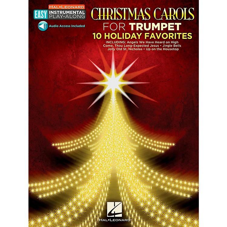 Hal LeonardChristmas Carols - Trumpet - Easy Instrumental Play-Along (Audio Online)