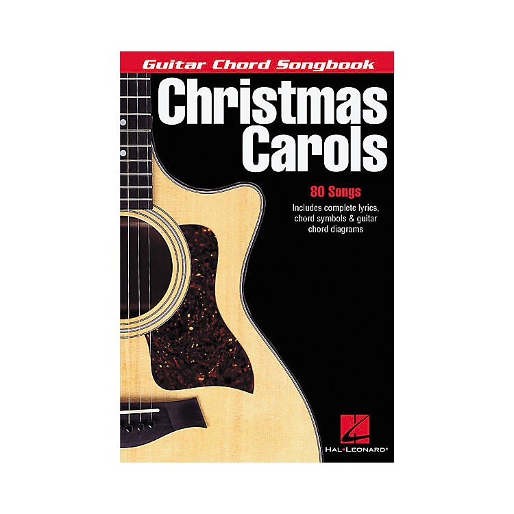 Hal LeonardChristmas Carols Guitar Chord Songbook