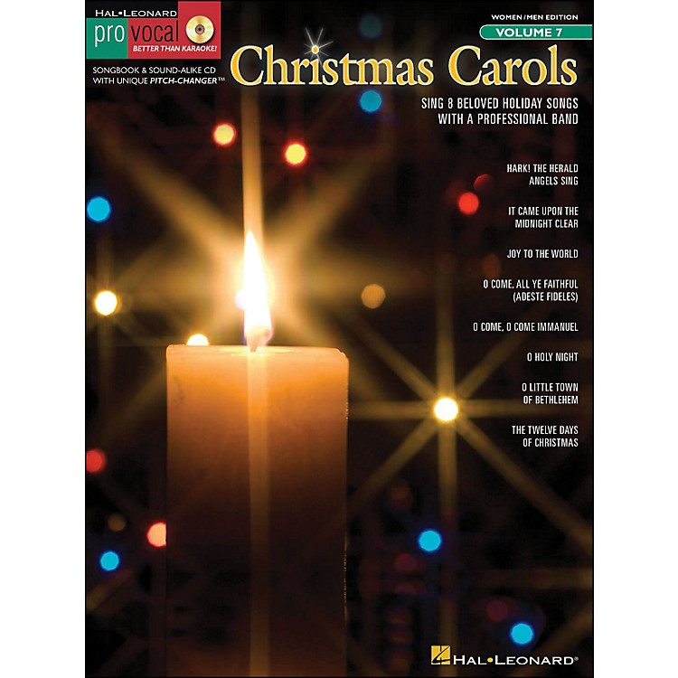 Hal LeonardChristmas Carols Pro Vocal Songbook for Women/Men Volume 7 Book/CD