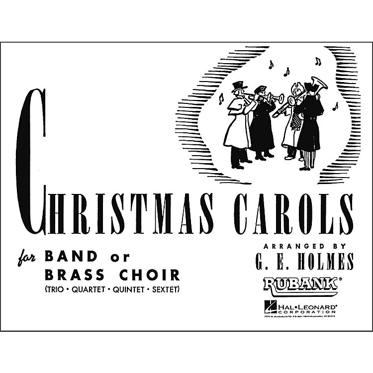 Hal Leonard Christmas Carols for Band Or Brass Choir Second B Flat Cornet