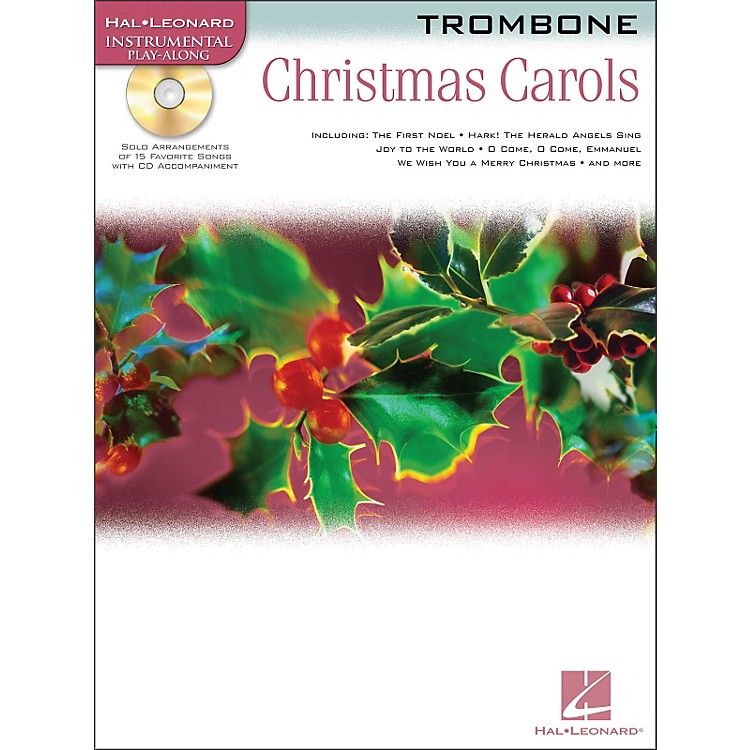 Hal Leonard Christmas Carols for Trombone Book/CD