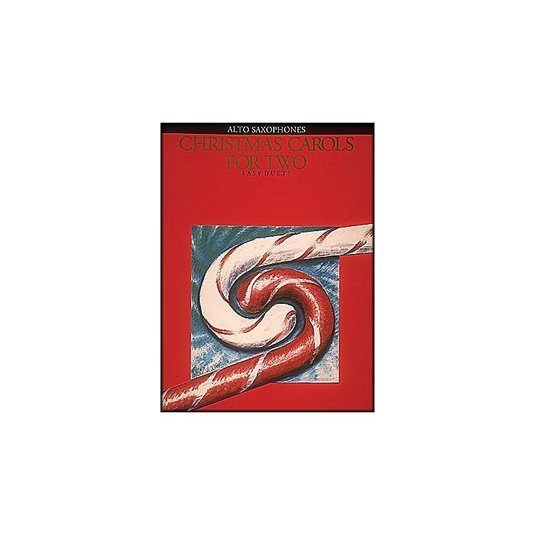 Hal LeonardChristmas Carols for Two Alto Saxophone