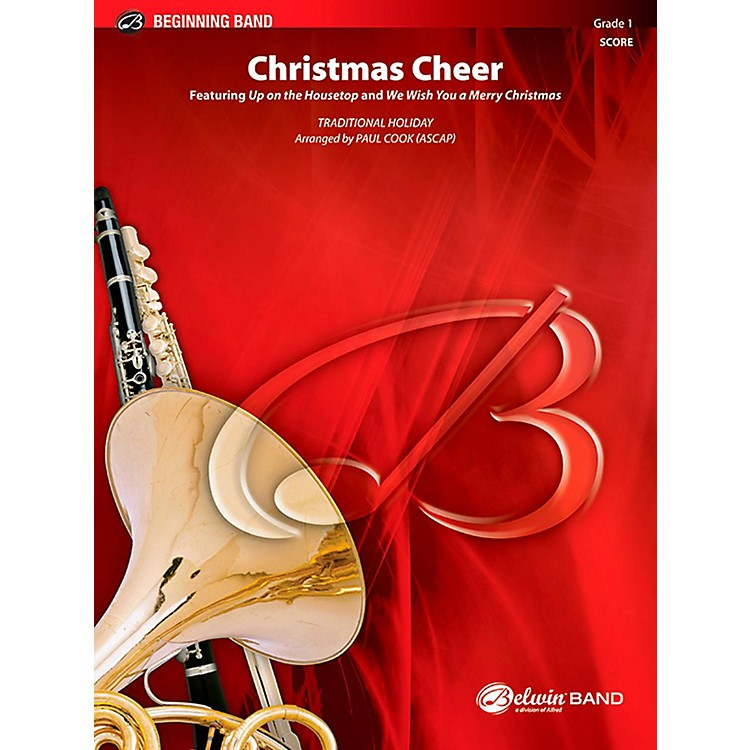 BELWINChristmas Cheer Concert Band Grade 1 (Very Easy)