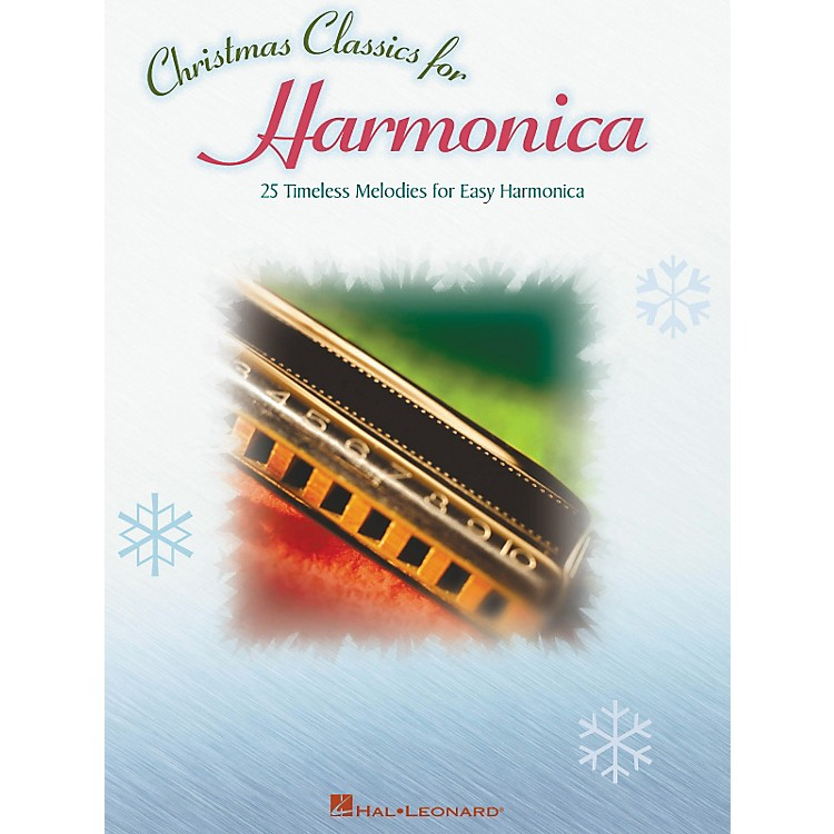 Hal LeonardChristmas Classics 25 Timeless Melodies for Easy Harmonica