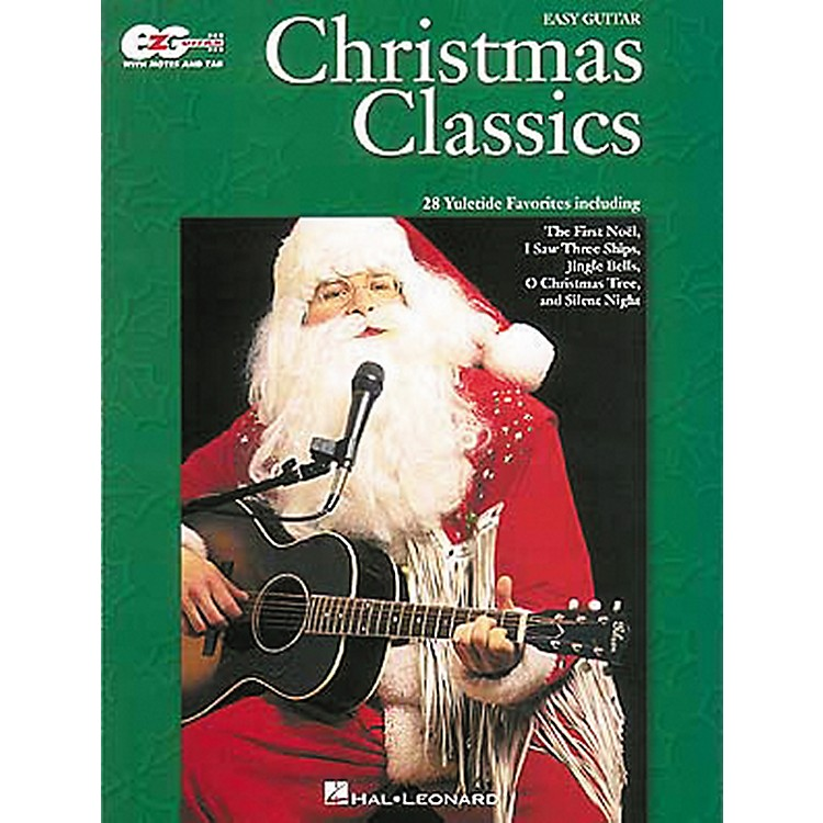 Hal LeonardChristmas Classics Easy Guitar Tab Songbook