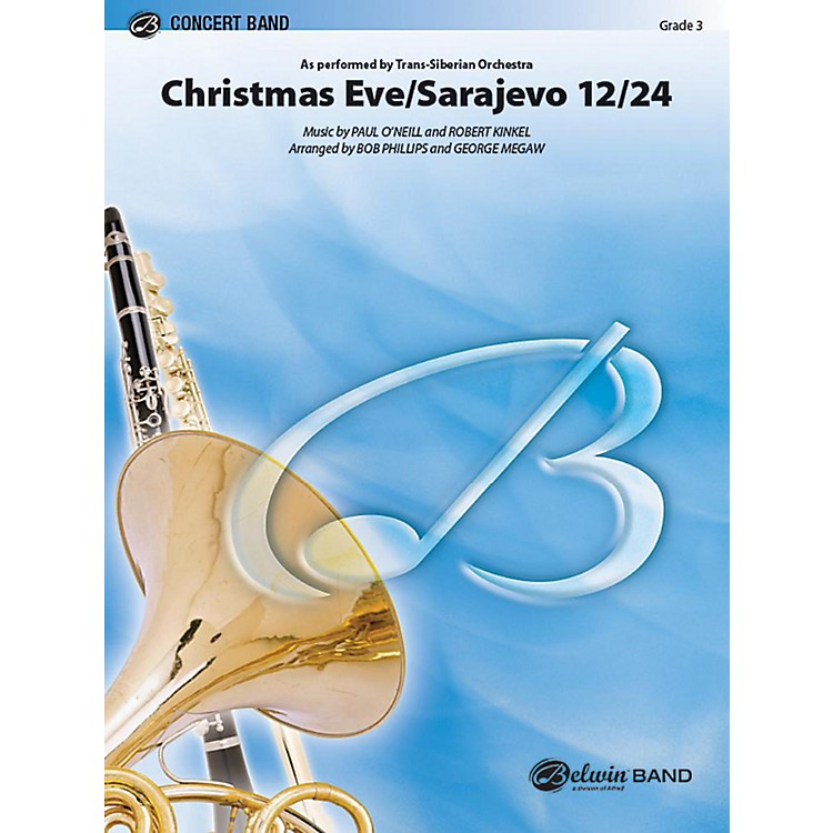 AlfredChristmas Eve/Sarajevo 12/24 Concert Band Grade 3 Set