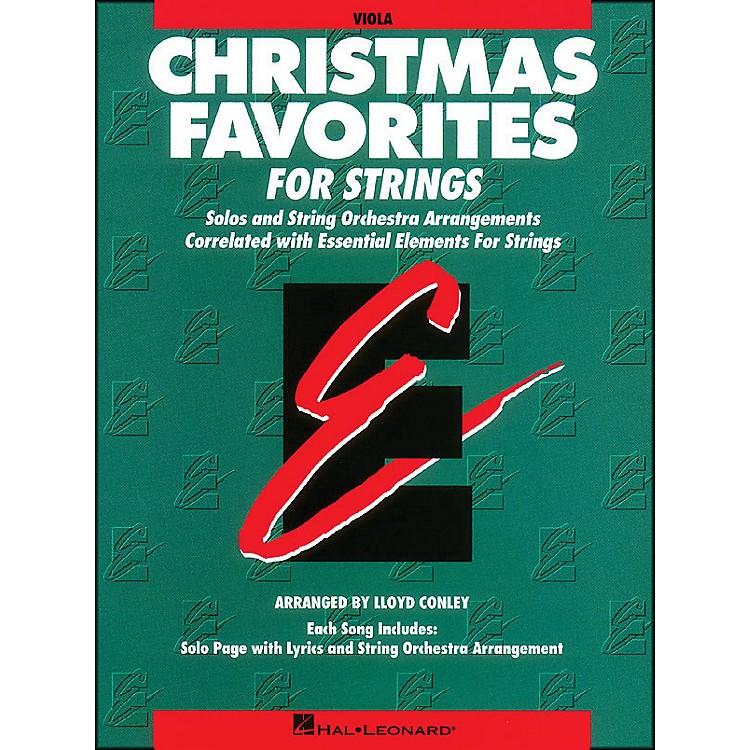 Hal LeonardChristmas Favorites Viola Essential Elements
