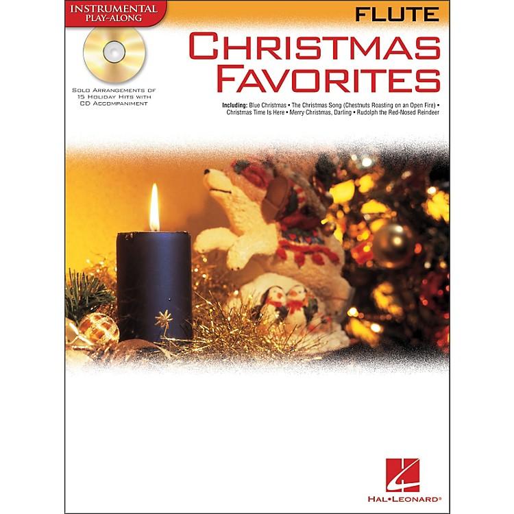 Hal LeonardChristmas Favorites for Flute Book/CD Instrumental Play-Along