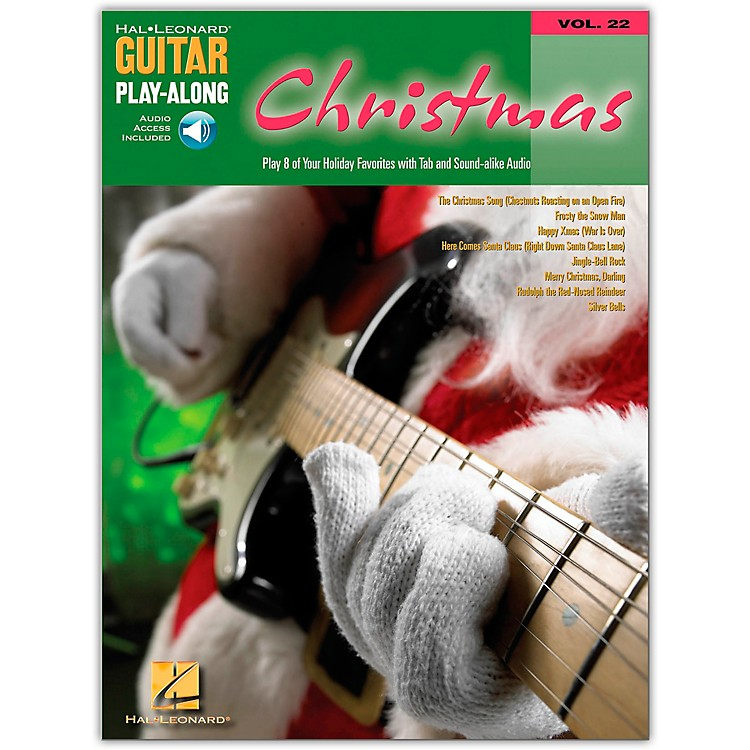 Hal LeonardChristmas Guitar Play-Along Series Book with CD