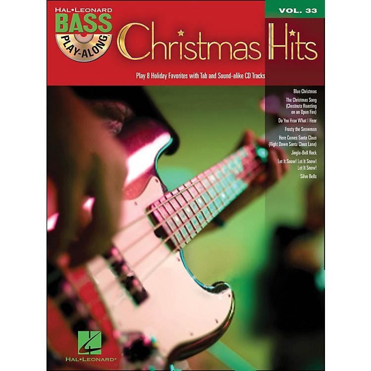 Hal LeonardChristmas Hits - Bass Play-Along Volume 33 Book/CD