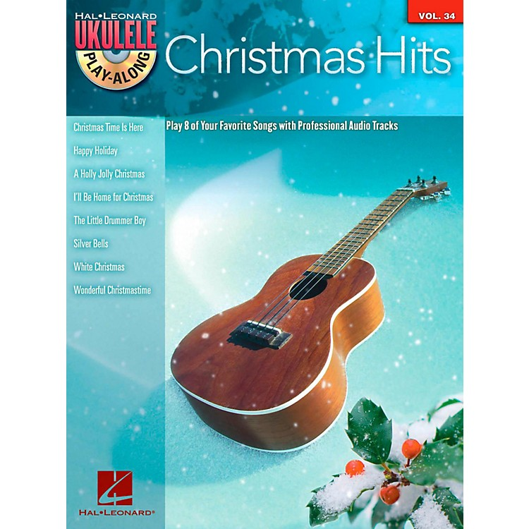 Hal Leonard Christmas Hits - Ukulele Play-Along Series Vol. 34 Book/CD