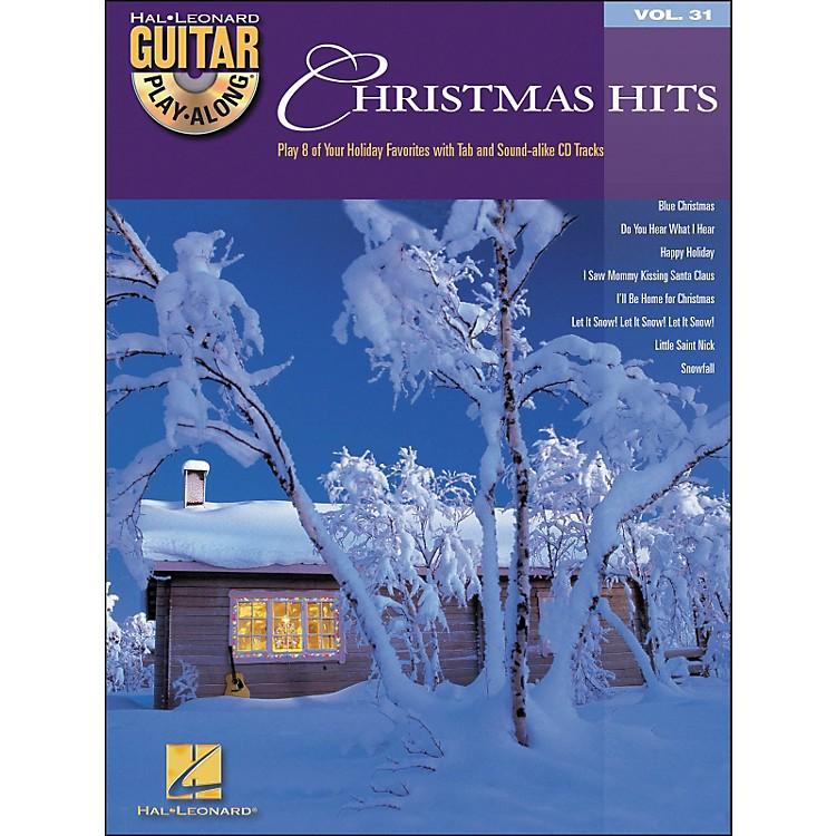 Hal LeonardChristmas Hits Guitar Play-Along Vol. 31 Book/CD