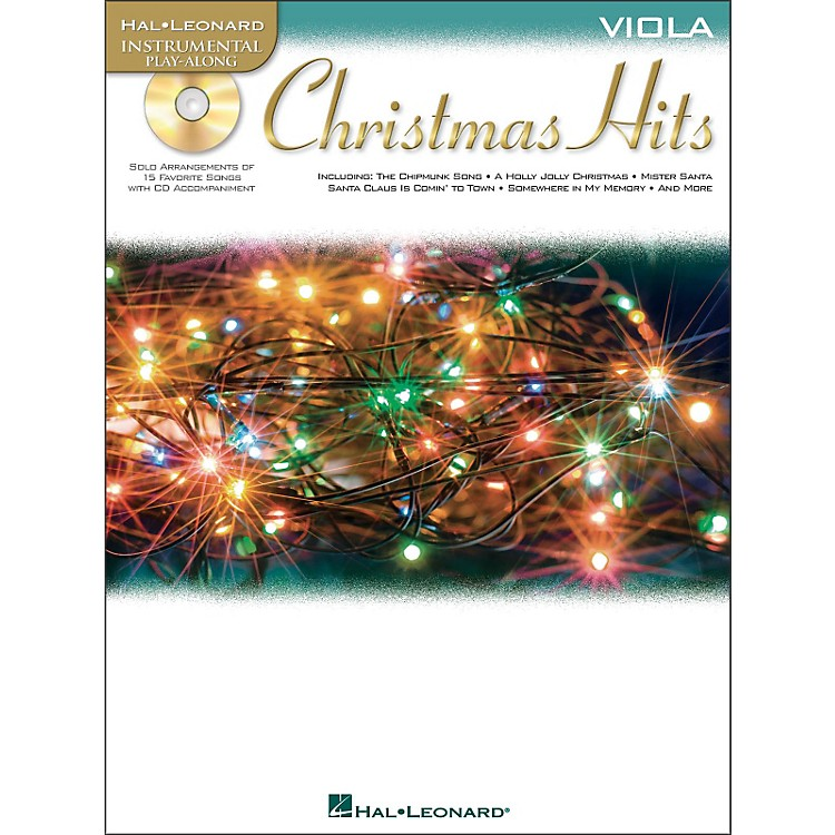 Hal Leonard Christmas Hits for Viola - Instrumental Play-Along Book/CD Pkg