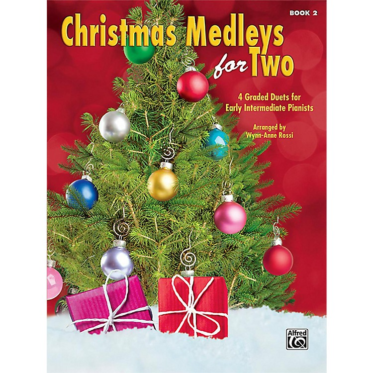 Alfred Christmas Medleys for Two, Book 2 Early Intermediate