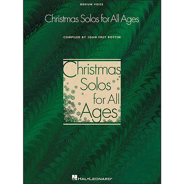 Hal Leonard Christmas Solos for All Ages for Medium Voice