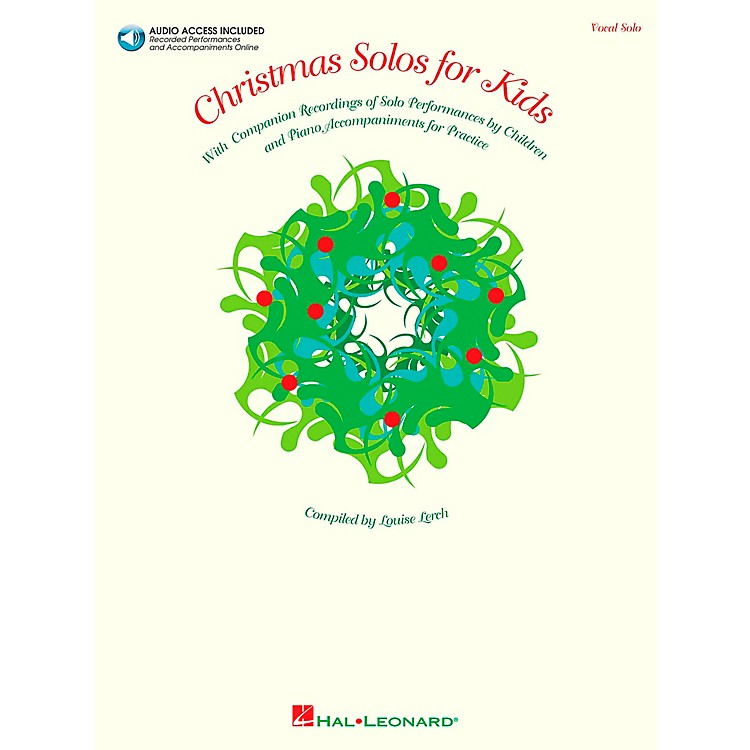 Hal Leonard Christmas Solos for Kids Book/CD