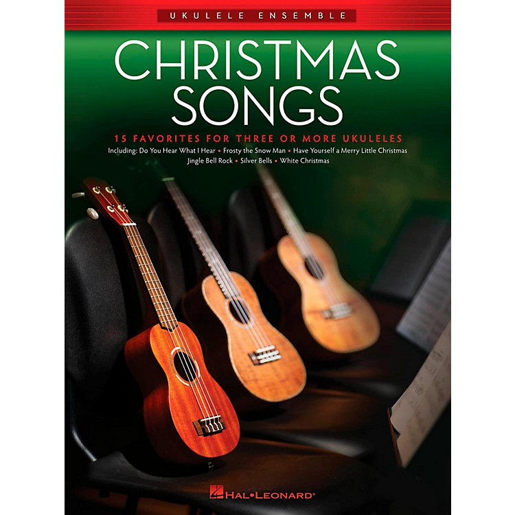 Hal Leonard Christmas Songs - Ukulele Ensemble Series Intermediate