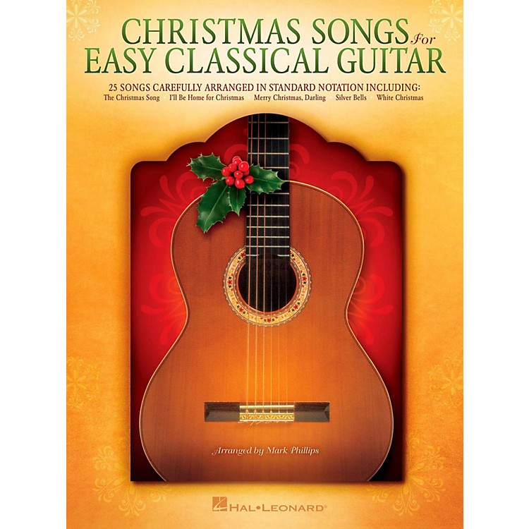 Hal LeonardChristmas Songs For Easy Classical Guitar (No TAB Notation)