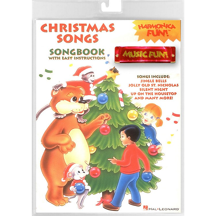 Hal Leonard Christmas Songs Harmonica Fun! Pack