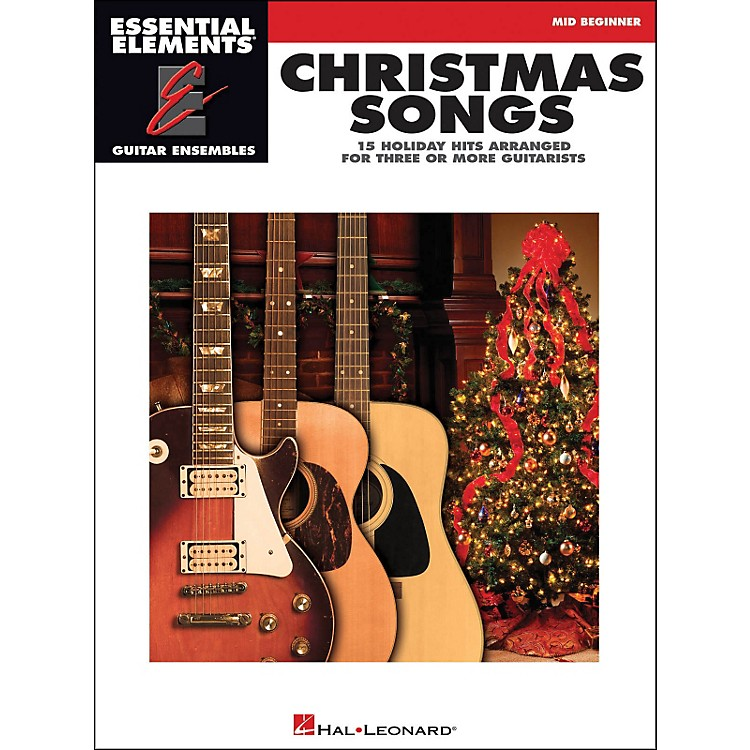 Hal Leonard Christmas Songs Mid Beginner for EE Guitar Ensemble
